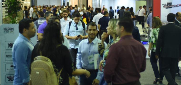 Materiais exóticos atraem compradores de mais de 50 países Vitoria Stone Fair