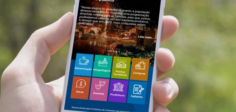 Guia impresso e aplicativo facilitam acesso a atrações turísticas de Cachoeiro