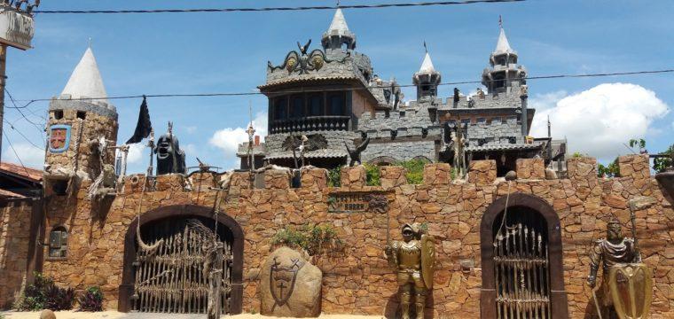 Castelo da Barra, em Vila Velha, é cenário de filme de suspense