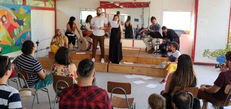 Artistas cachoeirenses e chilenos se apresentam em sarau na Casa dos Braga