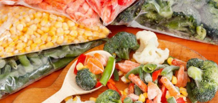 Saiba por quanto tempo você pode congelar frutas, legumes e verduras