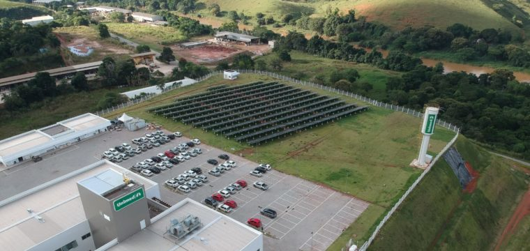 Unimed coloca em operação  Usina de Energia Fotovoltaica