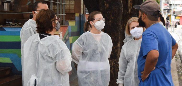 Covid-19: Prefeitura realiza ação especial para abrigar pessoas em situação de rua