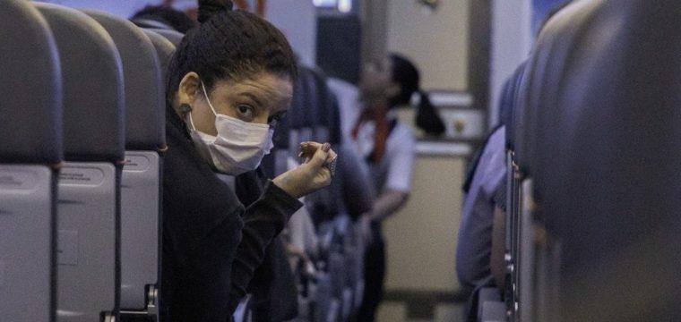 O 'novo normal' do pós-coronavírus já começou para quem viaja de avião
