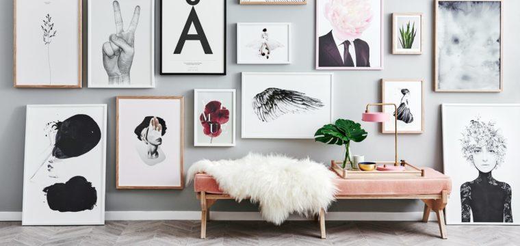 Ideias fáceis para decorar a parede como muito charme