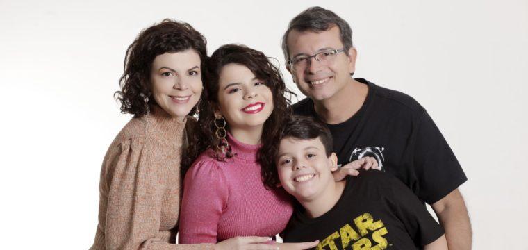 Fabrícia, Maria Clara, João Felipe e João Baptista. Lindos!