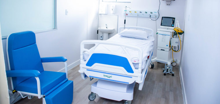 Um mês de funcionamento UTI Hospital Litoral Sul