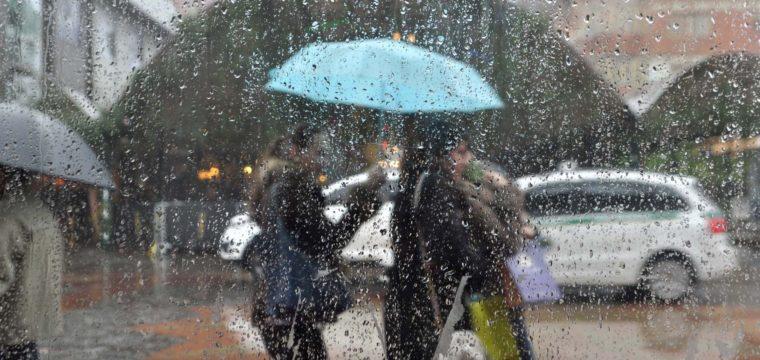 Fim de semana com muitas nuvens e chuvas ocasionais em Cachoeiro