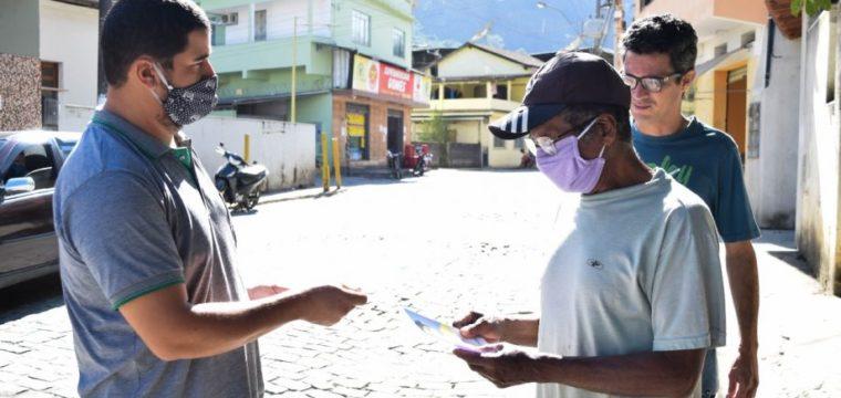 Distritos receberam nova ação de conscientização sobre Covid-19