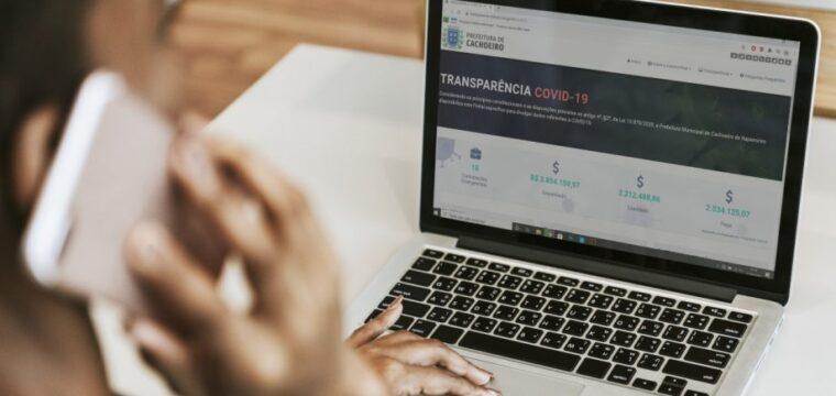 Transparência Covid-19: portal reúne dados sobre combate à pandemia pela prefeitura