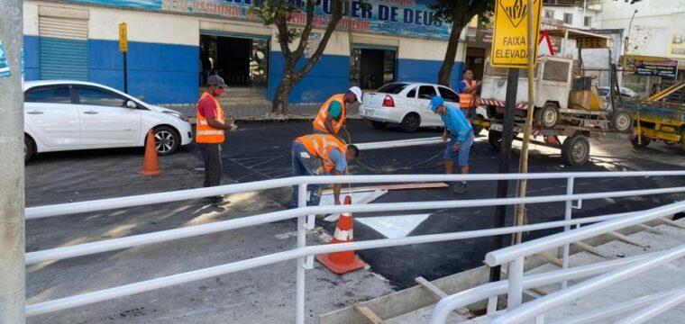 Faixas elevadas vão garantir mais segurança e acessibilidade na Beira Rio