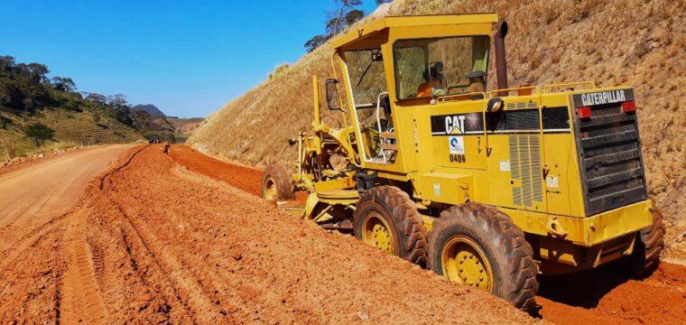 Governador visita obras rodoviárias e hospital no sul do Estado