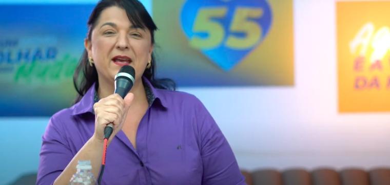 Em live, Renata Fiório fala sobre SUS, projetos para Saúde e chegada do Samu à Cachoeiro
