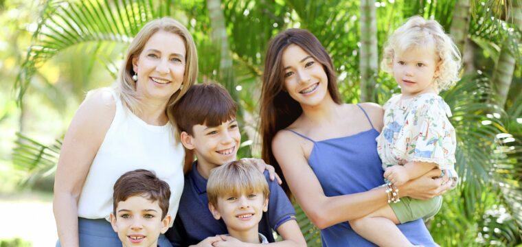 Rita Denadai, com seus lindos netos!