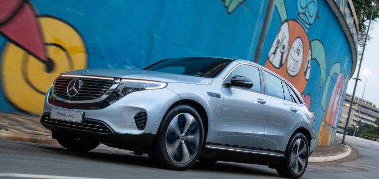 Primeiro carro elétrico da Mercedes-Benz desembarcou no ES