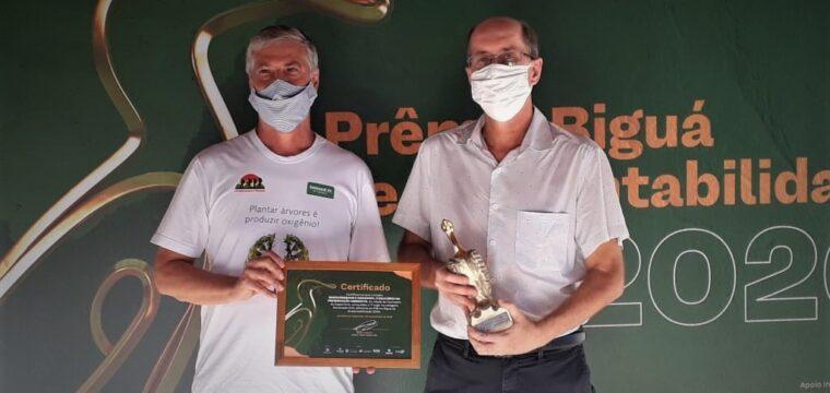 ONG parceira da Unimed Sul Capixaba vence prêmio de sustentabilidade