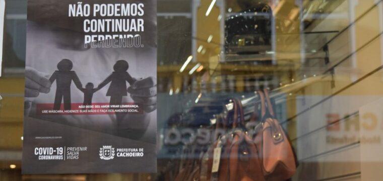 Campanha de conscientização contra Covid-19 é realizada no comércio de Cachoeiro