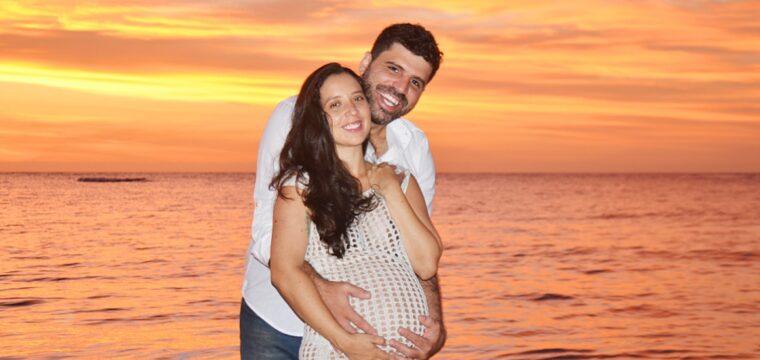 Casal Caetano Monteiro e Isabela Couto