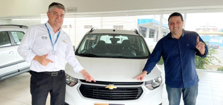CVC Chevrolet comemora resultado de vendas