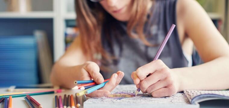 5 livros para colorir e dar adeus ao estresse