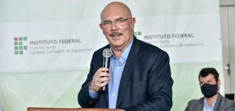 Ifes Cachoeiro inaugura ampliação com a presença do ministro da Educação