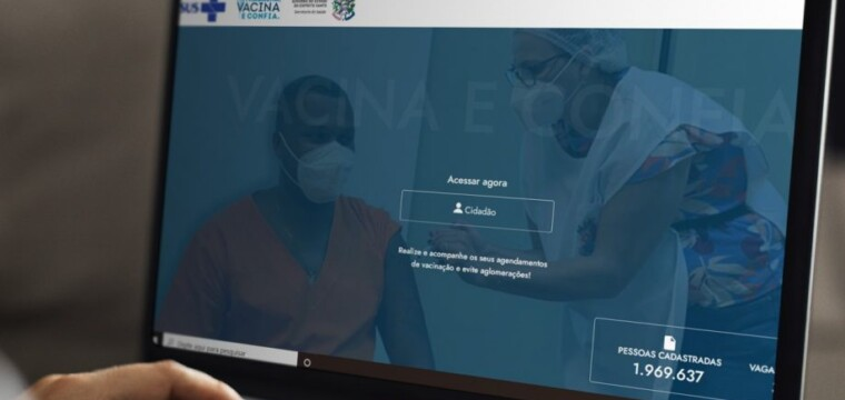 Cadastro em plataforma estadual de vacinação gera vantagens a cidadãos