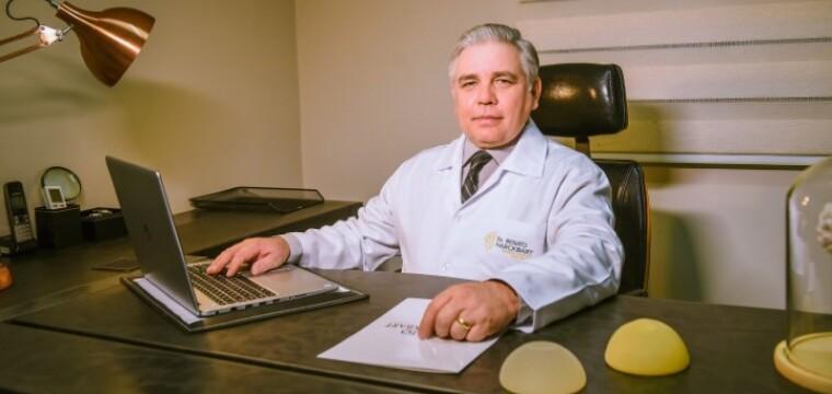 Dr. Renato Harckbart traz para o Sul do Estado o Renuvion, aparelho de última geração que trata a flacidez