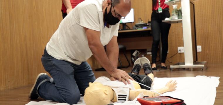 Unimed Sul Capixaba oferece treinamento de emergências cardiovasculares para academias e clubes de Cachoeiro